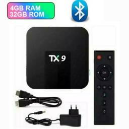 Título do anúncio: Tv box Tx9 4GB de RAM e 32 ROM - Bluetooth