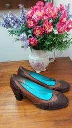 Título do anúncio: Sapato Couro Oxford