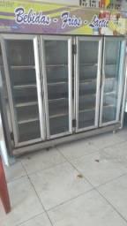 Título do anúncio: Freezer 4 portas, freezer da coca cola e parteleira da coca