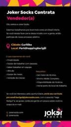 Título do anúncio: Vaga de Vendedor(a) para Joker Socks no Park Shopping Barigui