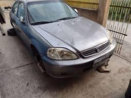 Vendo peças Honda Civic 00