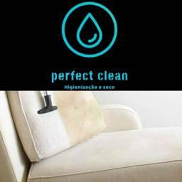 Higienização a seco seu estofado limpo