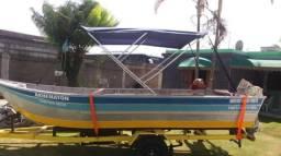 Título do anúncio: Barco/Motor/Carretinha