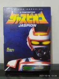 Título do anúncio: Box DVDs Coleção Jaspion (5DVDs)