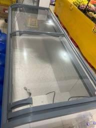 Título do anúncio: ilha de congelados geladeira porta de vidro