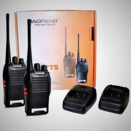Kit de rádio comunicador Baofeng (Lojas WiKi)