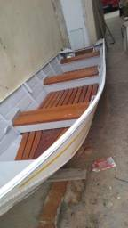 Vendo lindo barco de alumínio - 1994