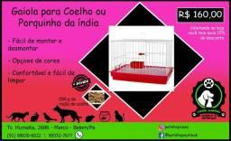 Gaiola para Coelho ou Porquinho da Índia