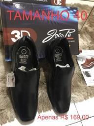 Promoção presentei seu Pai sapato social joga pé original pronta entrega