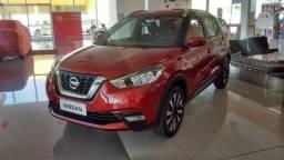 Nissan kicks 1.6 SV na cor vermelha Flexstart 2019/2020 - 2019