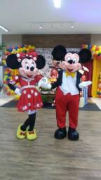Mickey e Minnie para festas e eventos