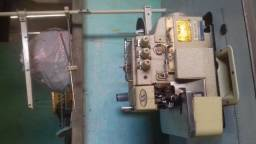 Máquina de costura overlock industrial