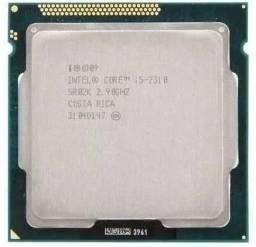 Processador I5 2310 + Placa mãe H61 + Duas memórias ddr3 1666mhz