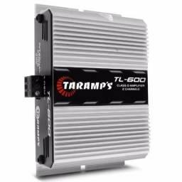 Amplificador Digital Taramps TL-600 - 2 Canais - 170 Watts RMS