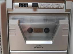 POLIVOX grande toca-fitas Stereo raro gravador