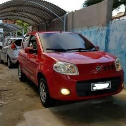Fiat Uno Vivace 11/12 - Completo e Quitado - 2012
