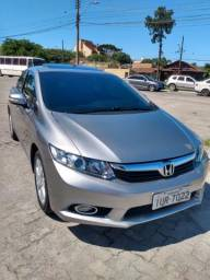 Honda Civic exr top de linha sujeito a revisão - 2014