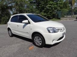 Toyota Etios XS 1.5 Automático Couro Completo Udono Revisado Estado OKM Apenas 40000km - 2017