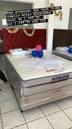 Cama casal Plumatex disponível