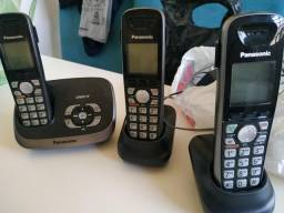Telefone com 2 ramais - Panasonic