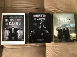 DVDs HOUSE of CARDS Coleção