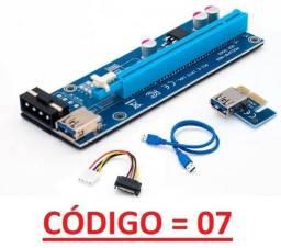 6 Unid Adapt Riser 006S PCI-EXP Cabo usb 3.0