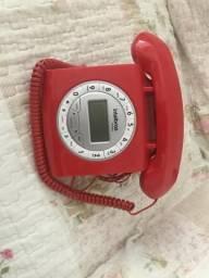 Telefone com fio Intelbras vintage