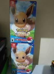 Pokemon lets go Evee+Pokebolla plus Completo Novo lacrado ! Nintendo switch