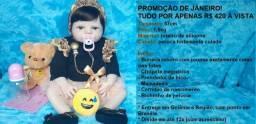Bebê Reborn - Promoção de Janeiro!