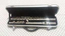 Flauta transversal Waldman prata