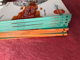 Kit COMPLETO - língua portuguesa VOLUME 1, 2 e 3