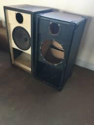 Par(2) caixas de som