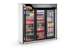 Expositor refrigerado 3 portas refrimate linha plus *douglas