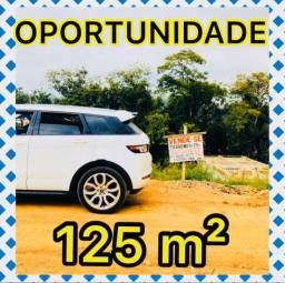 VENDO TERRENO 125 m² *OPORTUNIDADE