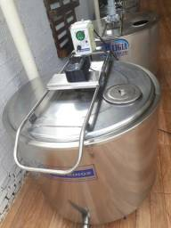Título do anúncio: Resfriador de leite inox 400 litros usado