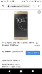 Sony xperia Xa1 ultra 64gb é 4gb de ram