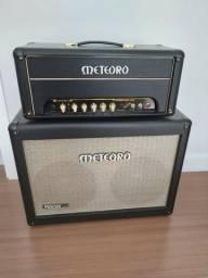 Cabeçote de guitarra falcon 50g + caixa 212 comprar usado  Caxias do Sul