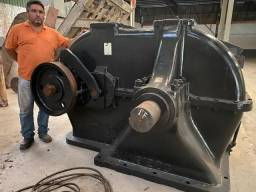 Motoredutor de grande porte para sistema de bombeio