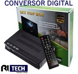Conversor Digital Tv Gravador Usb Hd1080