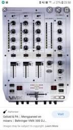 vendo ou troco cdj 200  da Pioneer ( o par ),mixer VMX 300 da Behringer