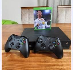 Xbox one X 1tb 4k 2 controles