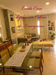 Bela casa duplex 3qts, c/suíte no coração de Colina de Laranjeiras