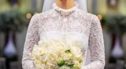 Vestido de Noiva por Raquel Grassi