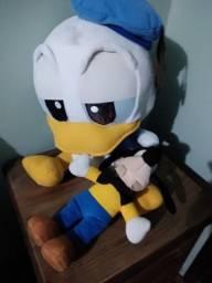 Pelúcia Pato Donald e Pateta