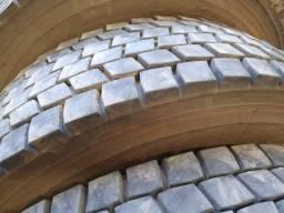 pneus bridgestone borrachudos 04 unidades semi novos
