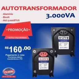Transformador 3.000 vá para Ar-condicionado de 9.000  Btus ? Entrega Gratis