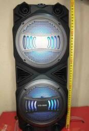 Caixa de SOM SUPER POTENTE KTS 1054 Wireless grande e potente!