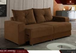 sofá retratil com excelente preço