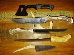 Título do anúncio: Facas e machadinha  e canivetes