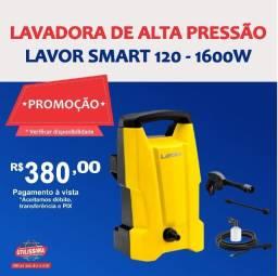 Título do anúncio: Promoção Lavadora de Alta Pressão Lavor Smart 120 ? Entrega grátis